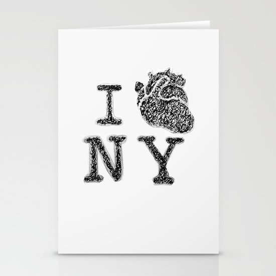 I HEART NEW YORK Stationery Cards