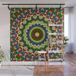 Fun Kaleidoscope Wall Mural