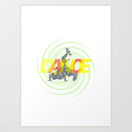DANCE II Art Print