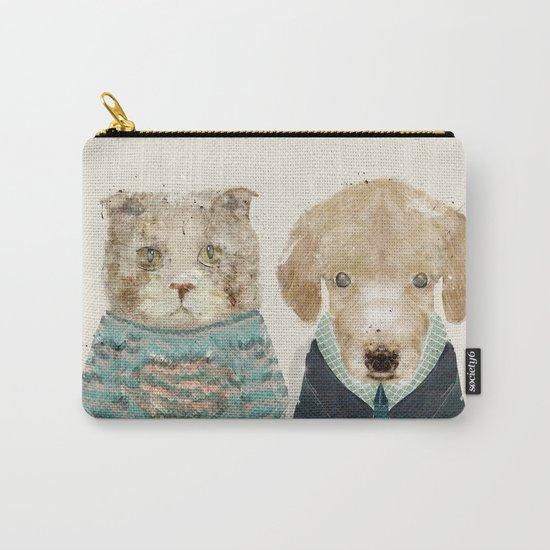 little puppy little kitty Carry-All Pouch
