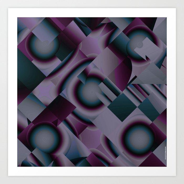 PureColor Art Print