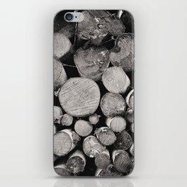 The Woodpile iPhone Skin