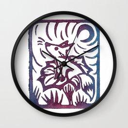 foxflower/2 Wall Clock