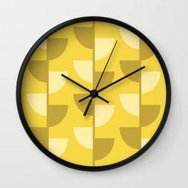 Lemon Slices in the Summer Sun Wall Clock