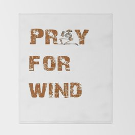 Kitesurfers Pray for Wind Throw Blanket