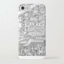 Hong Kong. Kowloon Walled City iPhone Case