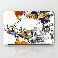 bob dylan iPad Cases featuring bob dylan by Chris Shockley - shock schism