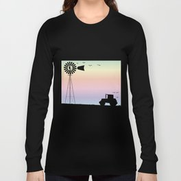 Farm Morning Sky Long Sleeve T-shirt