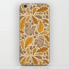 Oak & Squirrels | Autumn Yellows Palette iPhone Skin