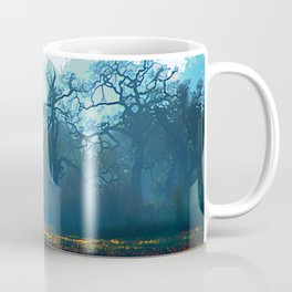 Skragley Oak Trees in the Laguna de Santa Rosa, Sonoma County, California Coffee Mug