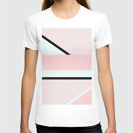 Blush Pink Geometric T-shirt