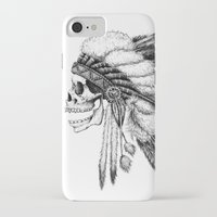 native iPhone & iPod Cases featuring Native American by Motohiro NEZU