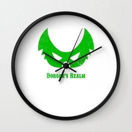 Dorgon's Realm: Green Wall Clock