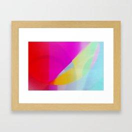 Pop Fields Framed Art Print