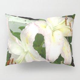 Two Beautiful Lilies Pillow Sham