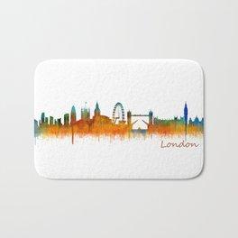 London City Skyline HQ v3 Bath Mat