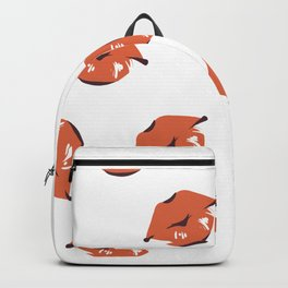Many Kisses Beaucoup de Bisous Red Lips Backpack