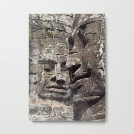 Womans Citadel Angkor Temples Cambodia Metal Print