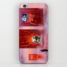 Exit.  iPhone Skin