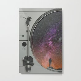 Vinyl Dream Metal Print