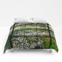 Louis Comfort Tiffany - Decorative stained glass 2. Comforters