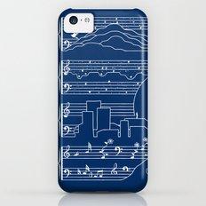 The Moonlight Sonata Blue Slim Case iPhone 5c