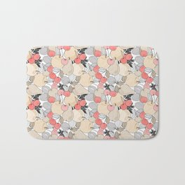 Retro pattern . Fruits and berries . Bath Mat