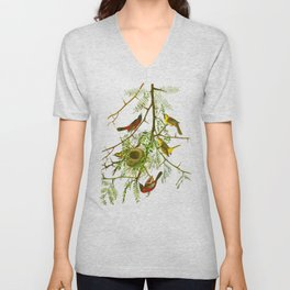 Orchard Oriole Bird Unisex V-Neck