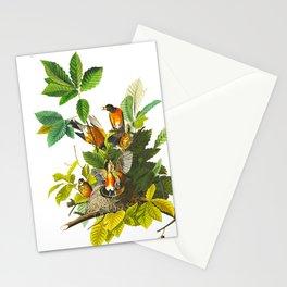 Vintage Scientific Bird Botanical Illustration Stationery Cards