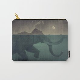 Elephant mountain Carry-All Pouch