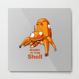 Ghosth in the Shell Metal Print