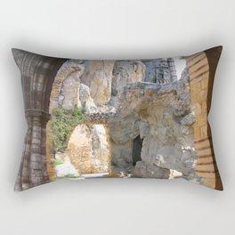 De Helden Rusten Bij De Rand Rectangular Pillow