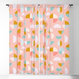 Playful Geometry Blackout Curtain