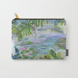 Pond in the Morning Carry-All Pouch