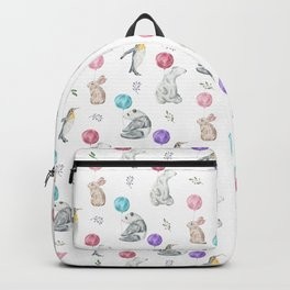 Animals with Balloons Backpack