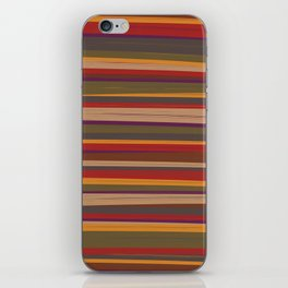 Fourth Doctor Scarf iPhone Skin