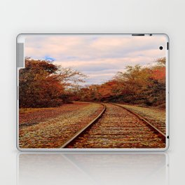 Fall on the Tracks Laptop & iPad Skin