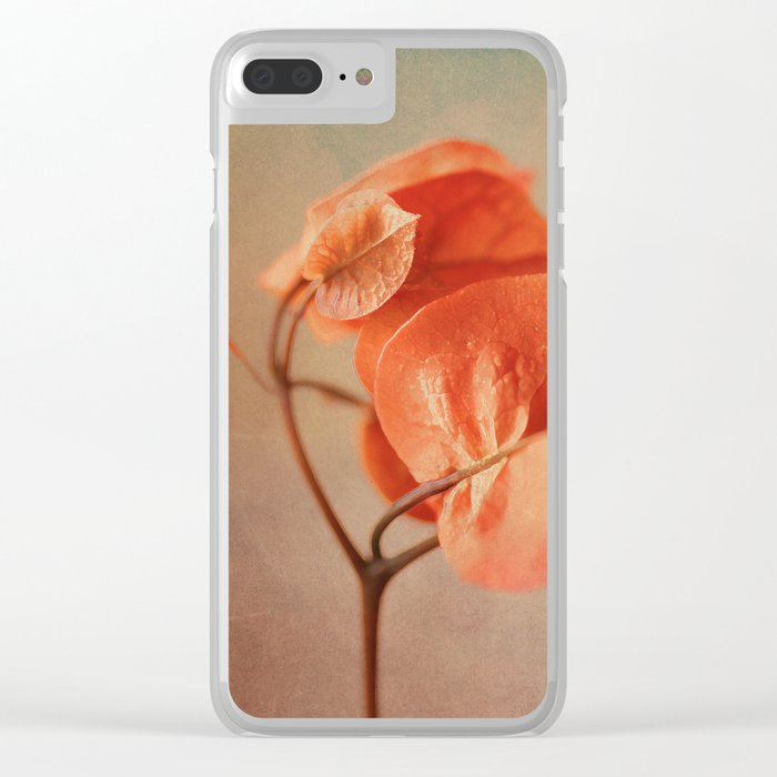 Sunny Bougainville(6) Clear iPhone Case