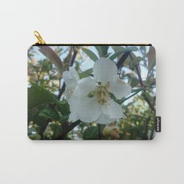 flower and light - White flower 3 Carry-All Pouch