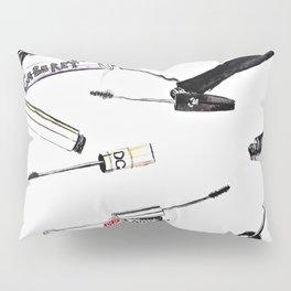 EyeLashes Mascara Pillow Sham