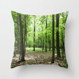 Verdant Throw Pillow
