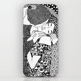 The kiss of Gustav Klimt iPhone Skin