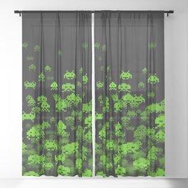Invaded II Sheer Curtain