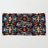 Ecuadorian Stained Glass 0760 Beach Towel