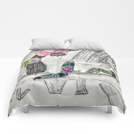 End of the Rainbow Comforters