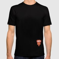 Space-cation Mens Fitted Tee MEDIUM Black