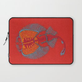 Stitches: Electric ray Laptop Sleeve