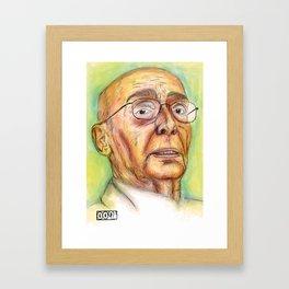 Saramago Framed Art Print