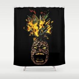 Molotov Pineapple Shower Curtain
