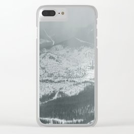 Winter 25 Clear iPhone Case